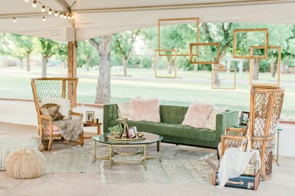 Wedding Lounge Furniture - Artisan by Santa Barbara Catering